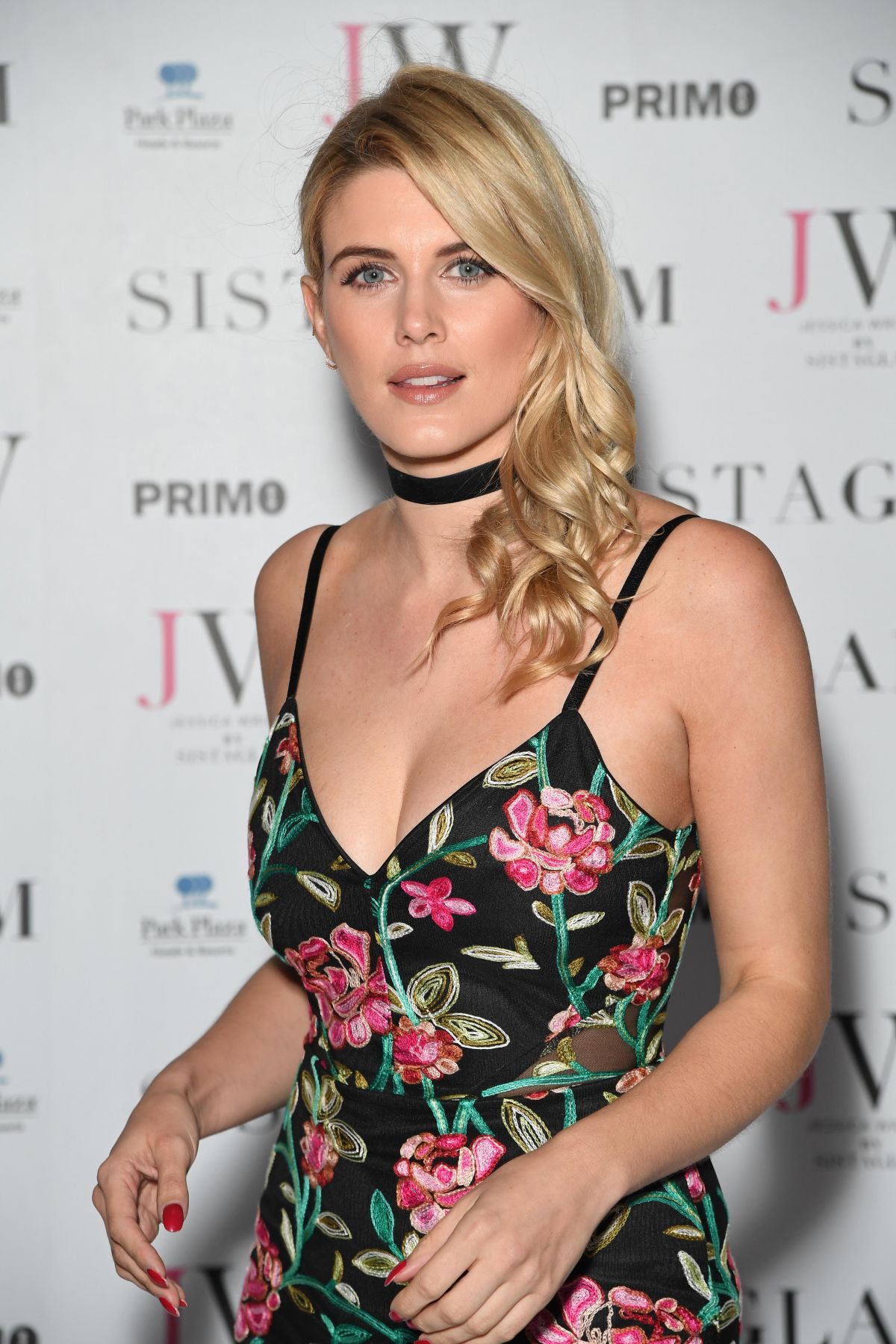ASHLEY JAMES at Sistaglam Launch Party in London 10/26/2016