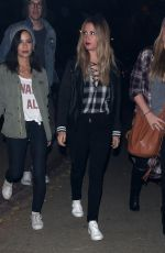 ASHLEY TISDALE at LA Haunted Hayride at Griffith Park in Los Angeles 10/09/2016