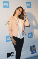 BAILEE MADISON at We Day in Toronto 10/19/2016