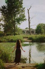 BECCA TOBIN on the Set of a Photoshoot, July 2016