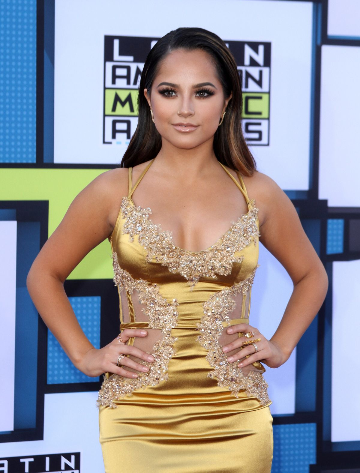 BECKY G at 2016 Latin American Music Awards in Hollywood ...