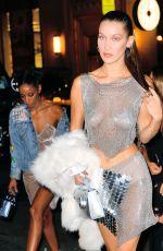BELLA HADID Arrives at Up&Down Nightclub in New York 10/09/2016