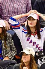 BELLA HADID at New York Rangers Game 10/19/2016
