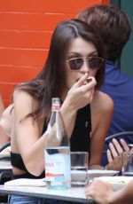 BELLA HADID Out for Lunch in New York 10/19/2016