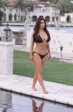 Best from the Past - KIM KARDASHIAN in Bikini at Her Friend Loren Ridinger