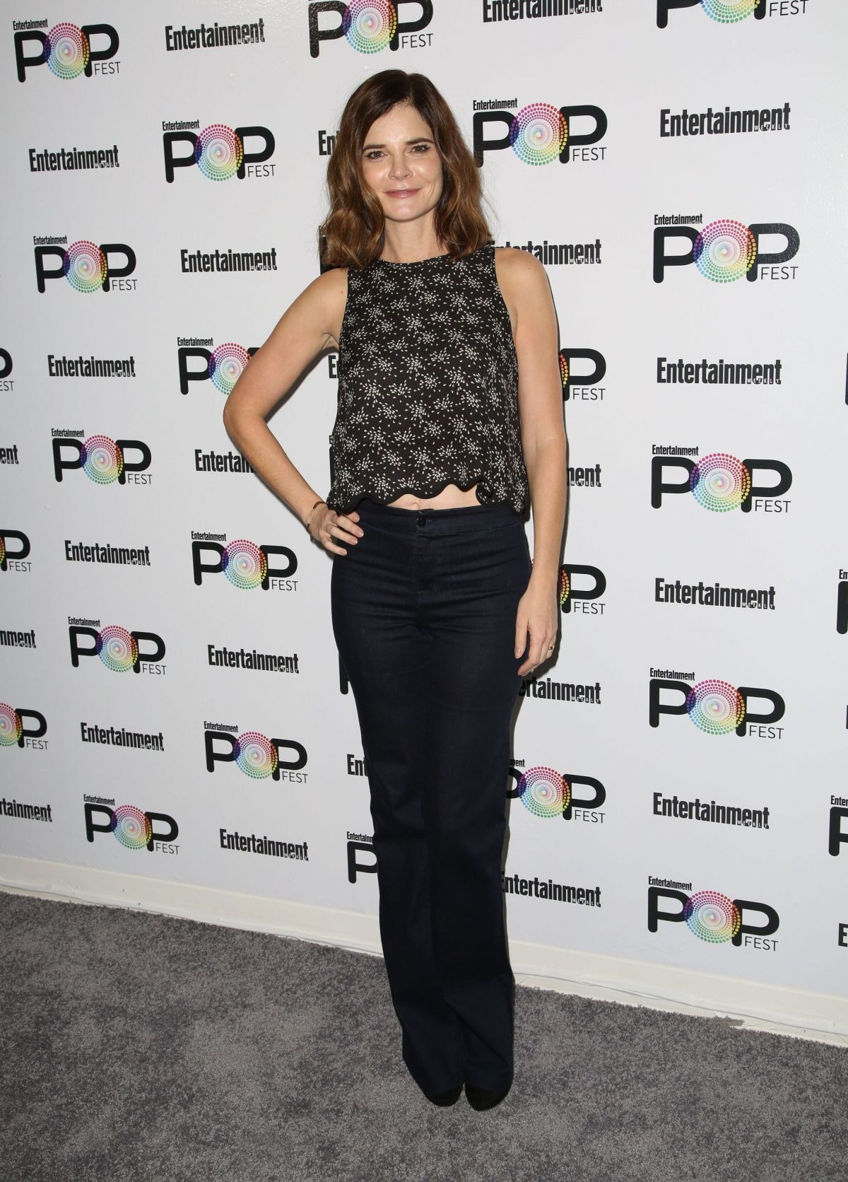 BETSY BRANDT at Entertainment Weekly Popfest in Los Angeles 10/29/2016