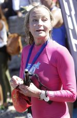 BO DEREK Participates in the Spetses Mini Marathon in Greece 10/08/2016