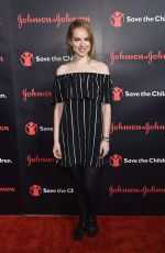 BRIDGIT MENDLER at 4th Annual Save the Children Illumination Gala in New York 10/25/2016