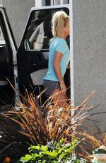 BRITNEY SPEARS Arrives at a Studio in Westlake Village 10/12/2016