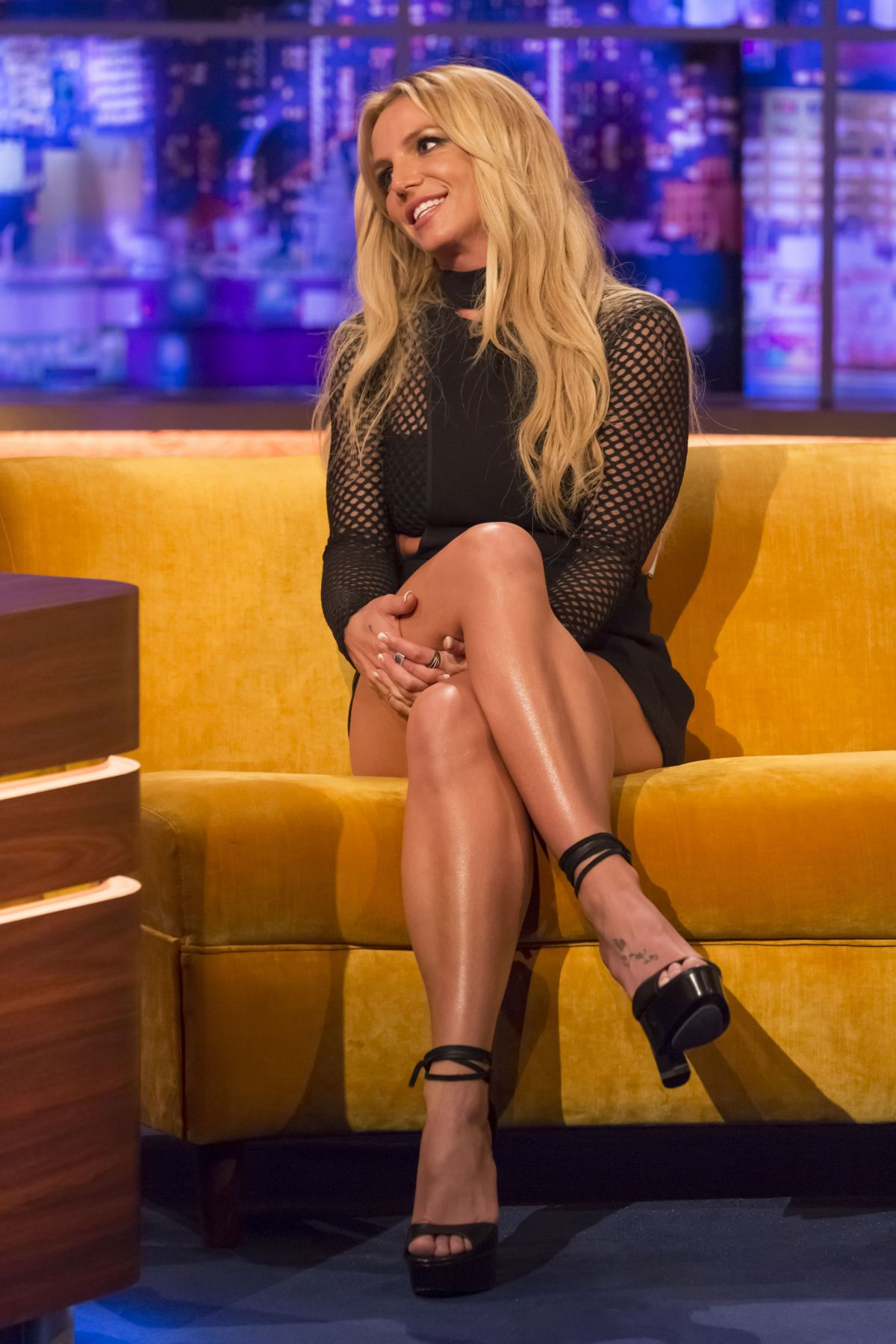 BRITNEY SPEARS at Jonathan Ross Show in London 09/30/2016 – HawtCelebs