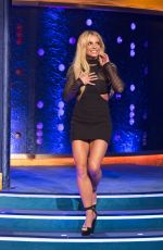 BRITNEY SPEARS at Jonathan Ross Show in London 09/30/2016