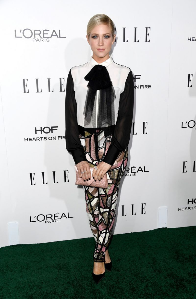BRITTANY SNOW at 23rd Annual Elle Women in Hollywood Awards in Los Angeles 10/24/2016
