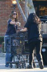 BROOKE BURKE in Jeans Out Shopping in Malibu 10/04/2016
