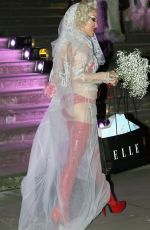 BROOKE CANDY Leaves 2016 Elle Women in Hollywood Awards in Los Angeles 10/24/2016