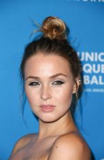 CAMILLA LUDDINGTON at 2016 Unicef Masquerade Ball in Los Angeles 10/27/2016