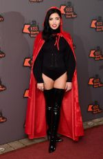 CARA DE LE HOYDE at Kiss FM Haunted House Party in London 10/27/2016