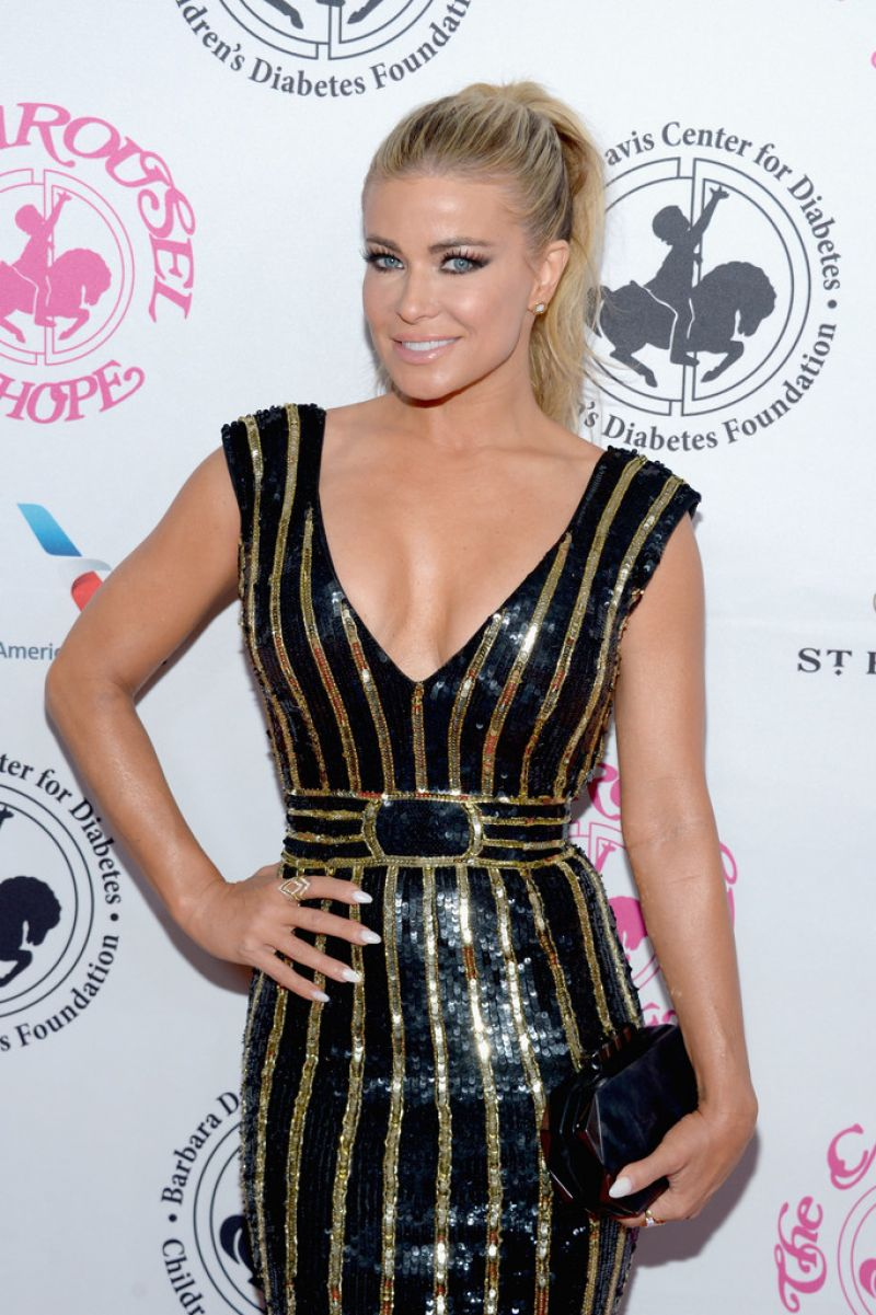 CARMEN ELECTRA at Carousel of Hope Ball in Beverly Hills 10/08/2016