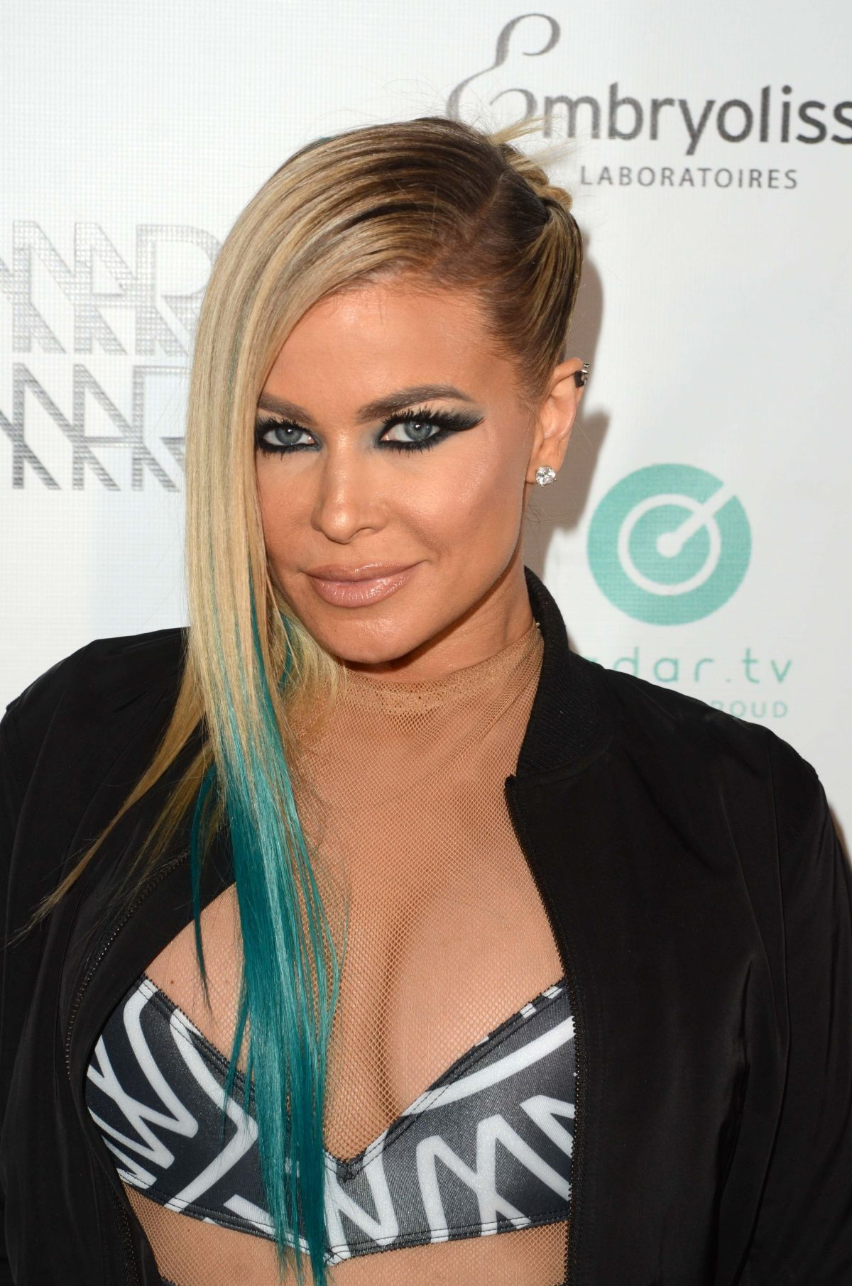 CARMEN ELECTRA at Marco Marco Fashion Show in Los Angeles 10/21/2016