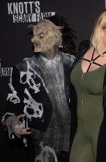 CARRIE KEAGAN at Knott's Scary Farm Opening Night in Buena Patk 09/30/2016