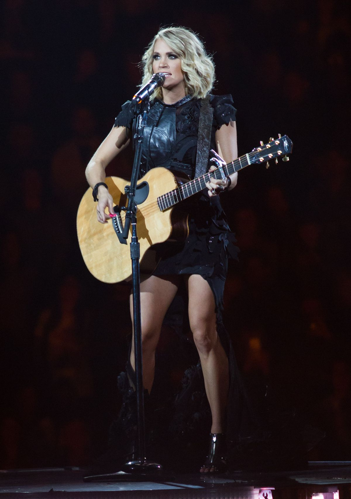 CARRIE UNDERWOOD Performs At The Storyteller Tour At Madison Square Garden  In New York 10/