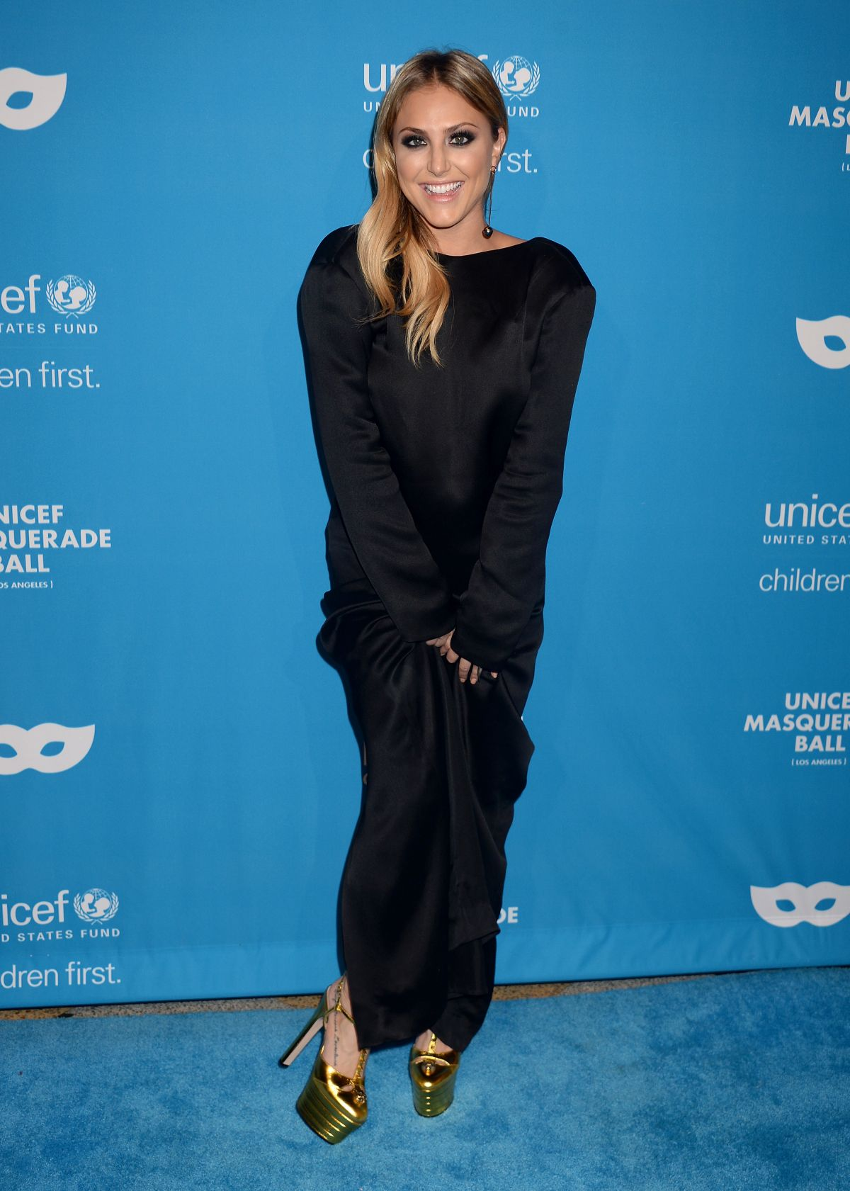 CASSIE SCERBO at 2016 Unicef Masquerade Ball in Los Angeles 10/27 ...