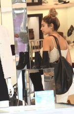 CHANTEL JEFFRIES Out Shopping in Los Angeles 10/05/2016