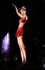 CHARLI XCX Performs at Downtown Las Vegas Events Center 10/21/2016