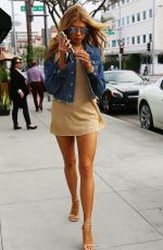 CHARLOTTE MCKINNEY Out and About in Beverly Hills 10/15/2016