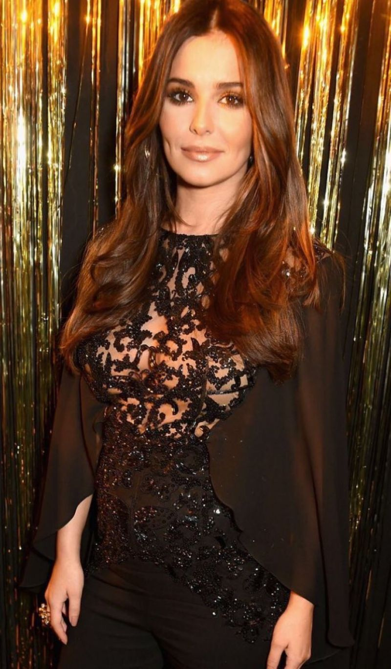 CHERYL COLE at L'Oreal Event at Pars Fashion Week 10/03 ... Cheryl Cole