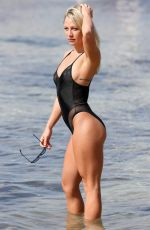 CHLOE MADELEY in Swimsuit at a Beach in Ibiza 10/10/2016