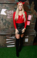 CHLOE MEADOWS at Kiss FM Haunted House Party in London 10/27/2016