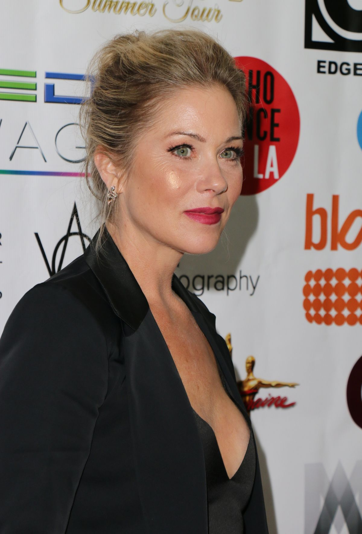 CHRISTINA APPLEGATE at World Choreography Awards in Hollywood 10/24/2016