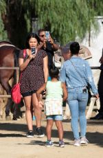 CHRISTINA MILIAN at Griffith Park in Los Angeles 10/03/2016