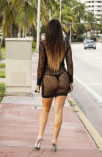 CLAUDIA ROMANI Out and About in Miami 23/10/2016