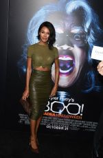 CRYSTLE STEWART at 'Boo! A Maden Halloween' Premiere in Hollywood 10/18/2016