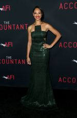 CYNTHIA ADDAI ROBINSON at 'The Accountant' Premiere in Hollywood 10/10/2016