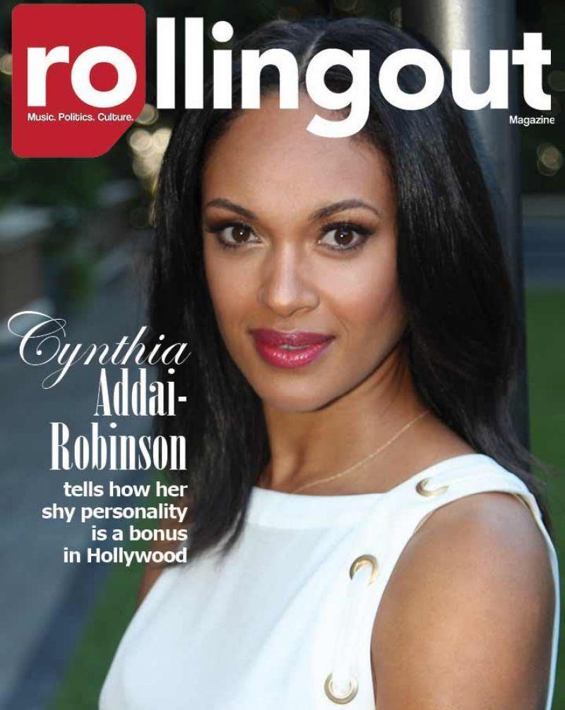 CYNTHIA ADDAI ROBINSON in Rollingout Magazine