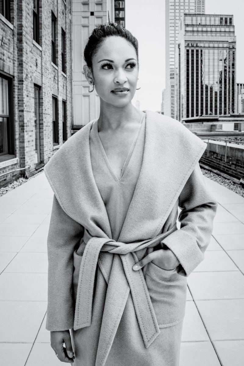 CYNTHIA ADDAI ROBISON in WWD Magazine