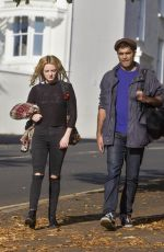 DAKOTA BLUE RICHARDS Out and About in Brighton 10/27/2016