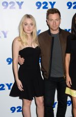 DAKOTA FANNING and JENNIFER CONNELLY at American Pastoral Red Carpet at 92nd Street in New York 10/18/2016