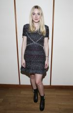 DAKOTA FANNING at Tribeca Chanel Women's Filmmaker Program Luncheon in New York 10/25/2016