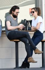 DAKOTA JOHNSON Out and About in Los Angeles 10/04/2016