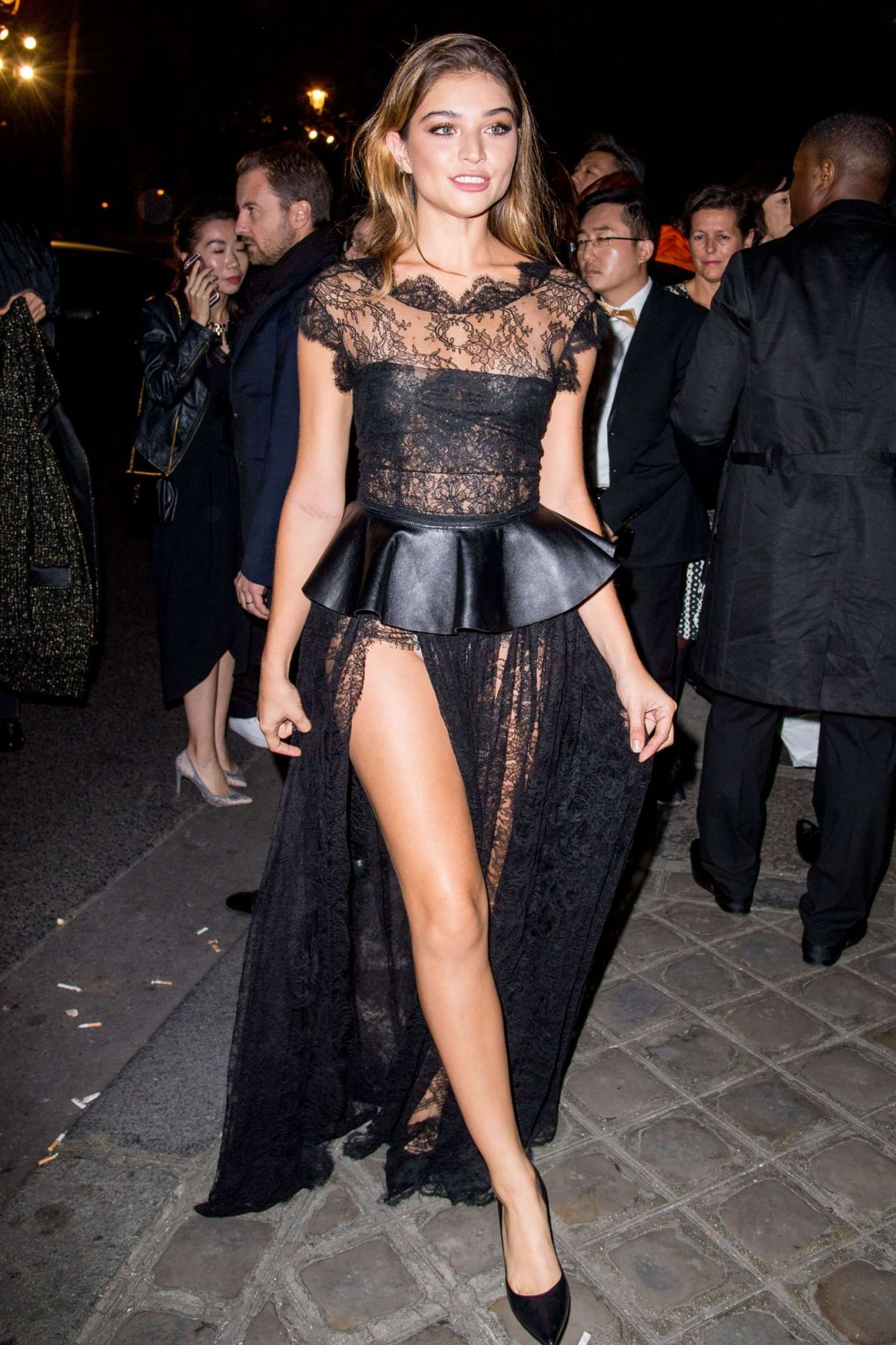 DANIELA LOPEZ OSORIO at Gold Obsession Party at Paris Fashion Week 10/02/2016