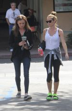 DENISE RICHARDS Out and About in Malibu 10/07/2016