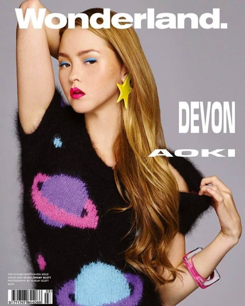 DEVON AOKI in Wonderland Magazine, Fall 2016