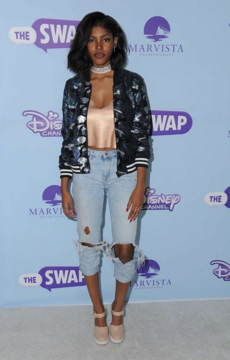 DIAMOND WHITE at 'The Swap' Premiere in Los Angeles 10/05/2016