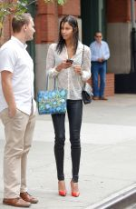 DIANE SODRE Out Shopping in New York 10/20/2016