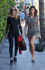 ELISABETTA CANALIS Out and About in Beverly Hills 10/20/2016