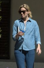 ELIZABETH BANKS Out and About in Los Angeles 10/03/2016