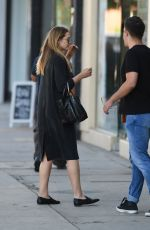 ELIZABETH OLSEN Oout and About in Los Angeles 10/06/2016